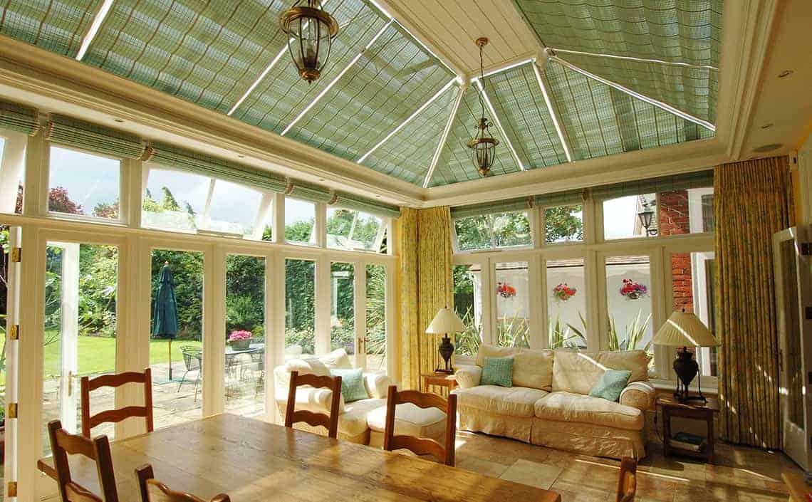 Pinoleum conservatory blinds