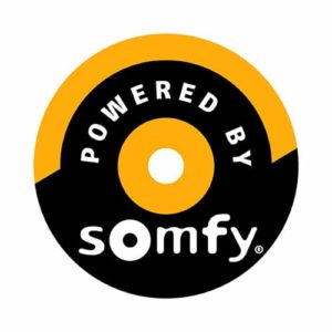 Conservatory blinds powered by Somfy