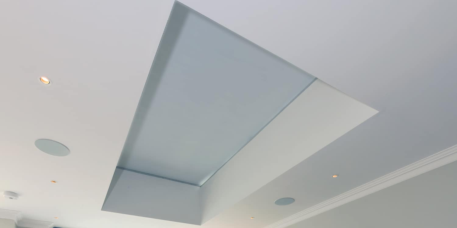 Roof Lantern Blinds By Oakhurst No Support Wires