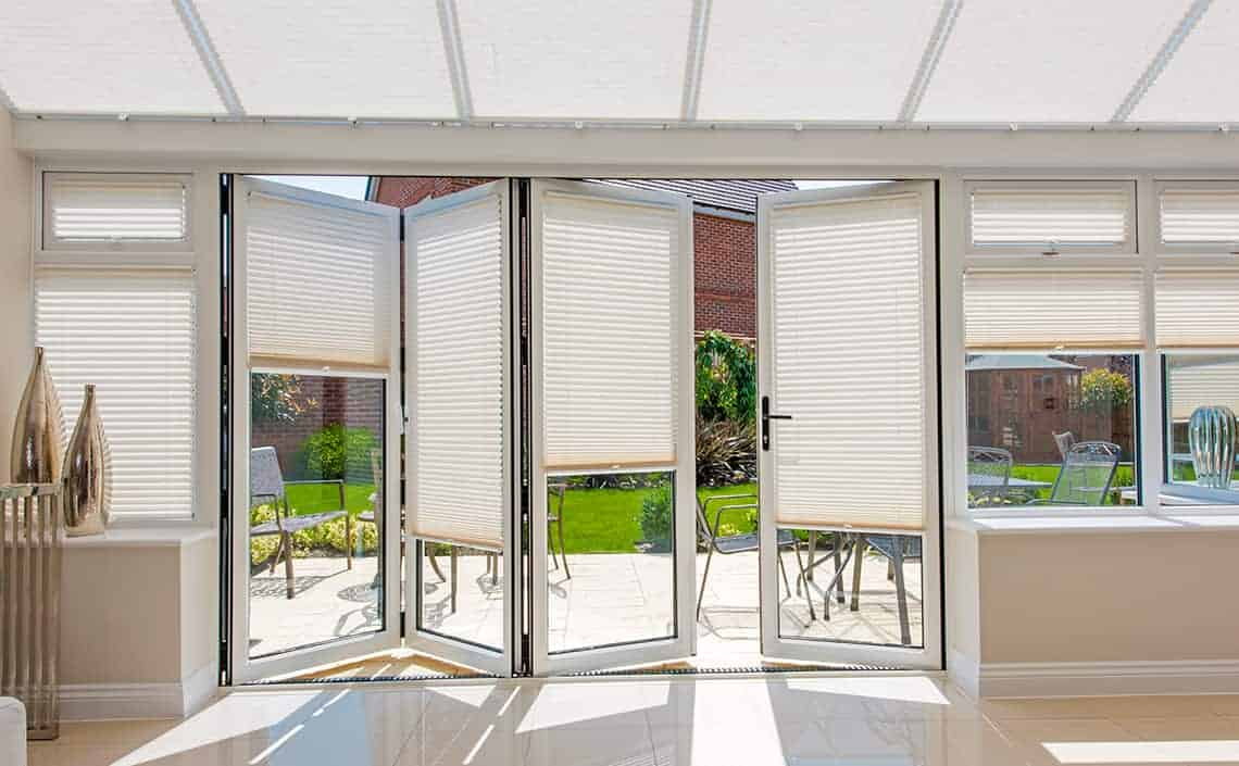 Blinds for biFold doors