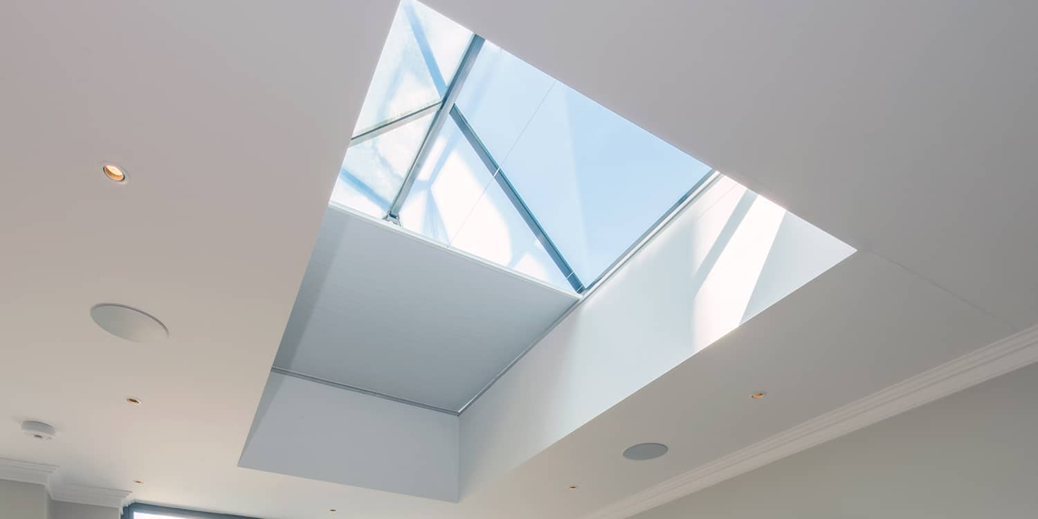 Roof lantern blinds - without support wires