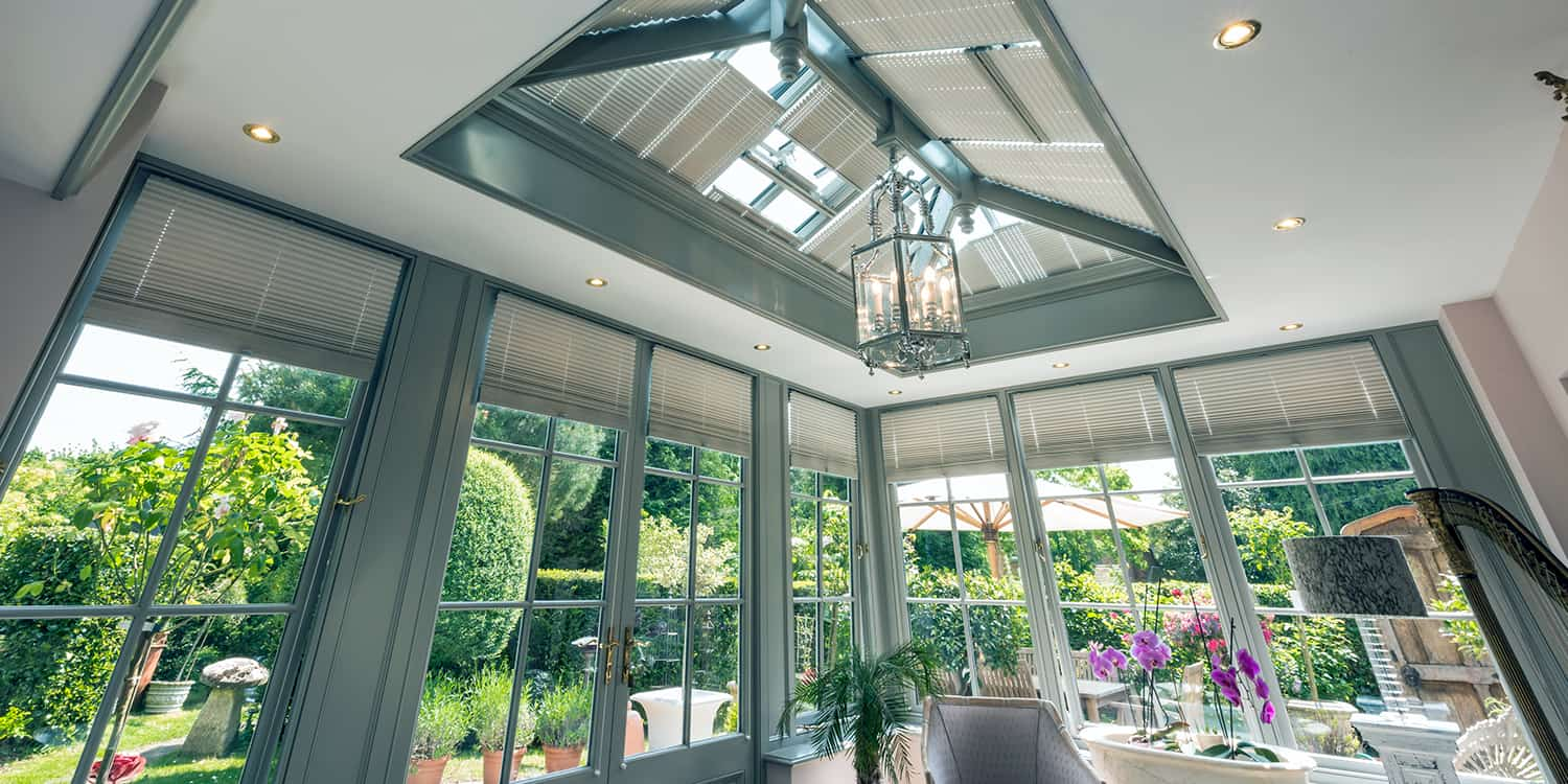 Conservatory blinds for your orangery