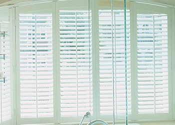 Conservatory blind shutters
