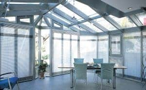 Silent Gliss Venetian conservatory blinds