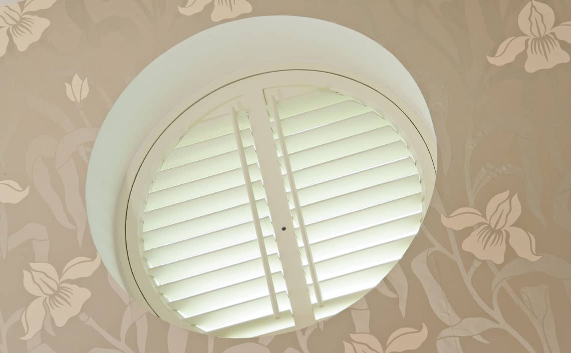 Round Shaped Shutters